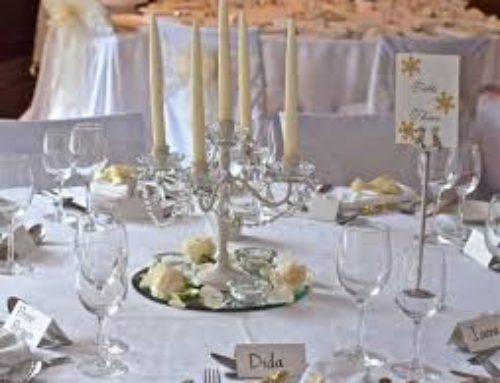 Come decorare il tavolo degli sposi!